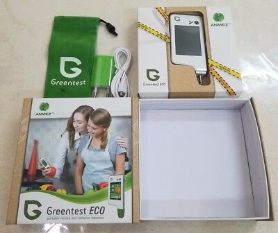 Greentest Portable Food Nitrate Tester Vegetables, Fruits And Meat **New Model**