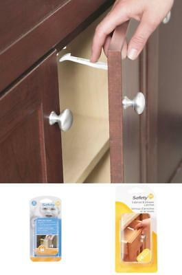 Safety 1st 42 Pack Wide Grip Cabinet Child Proof Baby Locks Drawer Latches US