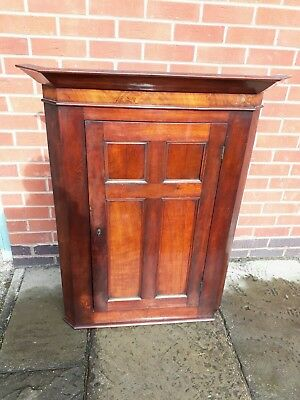 early victorian mahogany corner unit