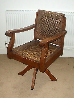 Plantation Colonial Style Captain's Swivel Office Chair