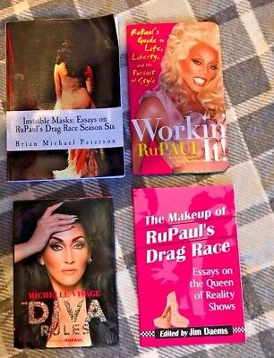 Selection of RuPaul's Drag Race Books