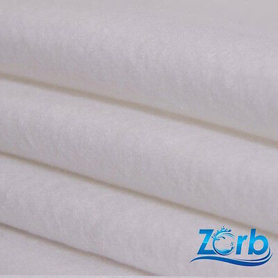 Zorb Absorbent Fabric - Fat Quarter - UK Cheapest - Nappies Diapers Menstrual
