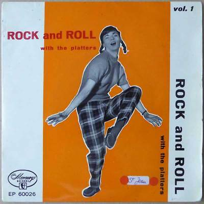 """7"""" EP - Rock And Roll With The Platters Vol. 1 - Italien 1957 - VG+(+)"""