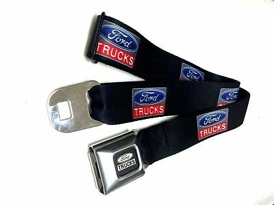 Ford Trucks Logo Official Licensed Belt Authentic Seatbelt Style Buckle Down