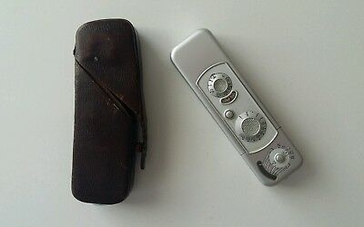 Minox B Sub-miniature Camera in Original Brown Case