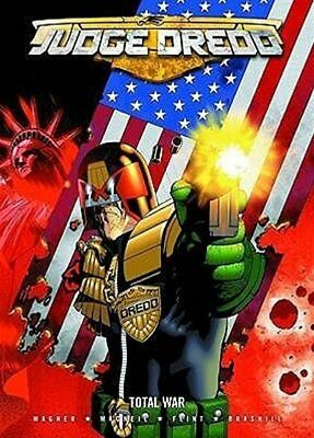 2000AD Judge Dredd: Total War Paperback FREE SHIPPING