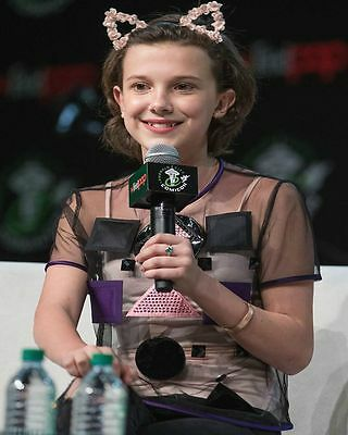 8x10 Millie Bobby Brown GLOSSY PHOTO photograph picture stranger things #1