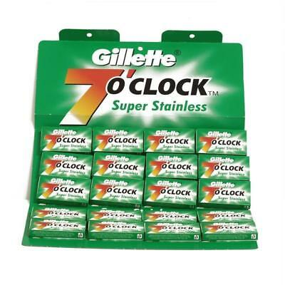 Gillette 7 o'clock Super Stainless Green Double Edge Blades