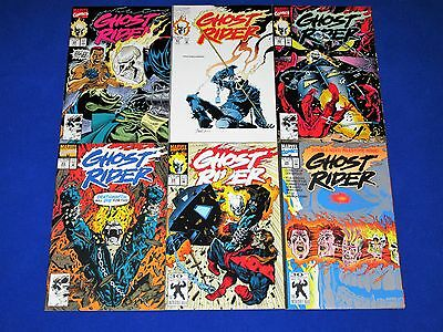 Lot of 6 GHOST RIDER Issues 20 - 25 [Marvel 1991, 1992] VF/NM Or Better!