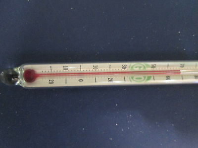 """A Vintage Southern Comfort Drink Thermometer. Glass. Over 6"""" long. 1950's ??."""