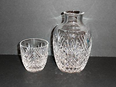 "Astral ""Joan"" Crystal Tumble-Up Night Set Decanter & Tumbler"
