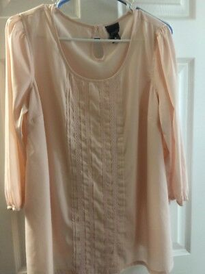 Baby Pink Maternity Blouse Medium