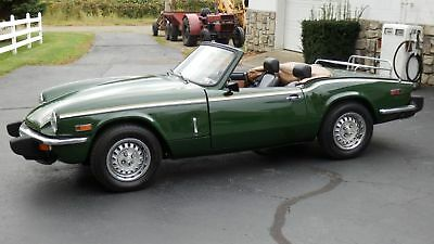 1979 Triumph Spitfire  1979 TRIUMPH SPITFIRE 1500, sports car, British car, convertible,