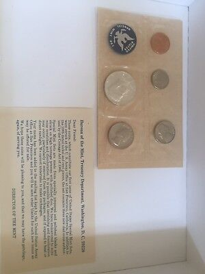 """1965 special mint set. The """"PROOF SET"""" for 1965. With original envelope."""
