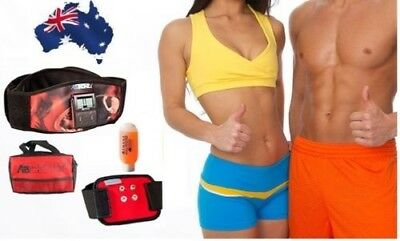 New Abtronic X2 Dual Slimming Vibrating  Fitness Belt + Arm Band + Free Gel