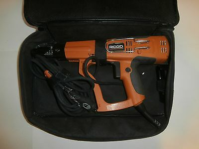 Ridgid 4.3a collated drywall screwgun with case