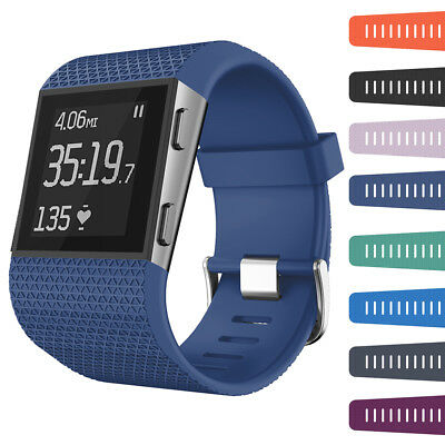 Replacement Strap Band for Fitbit Surge Watch Tracker Wristband Silicone L/Smal