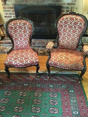 Victorian Set Parlor Chairs