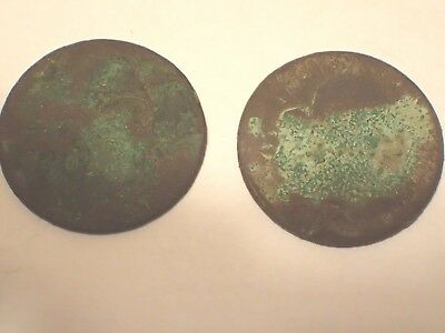 Lot of 2 Draped Bust US Large Cents