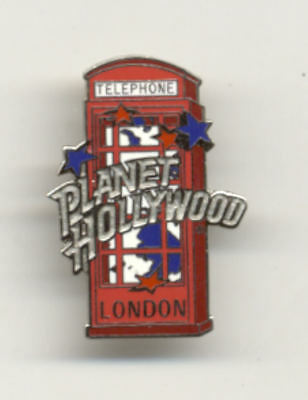 Planet Hollywood London Phone Booth City Pin