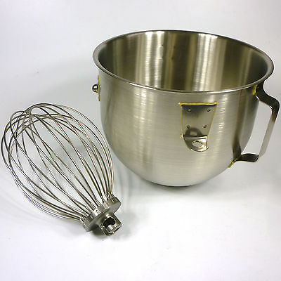 Hobart N50 Mixer - NEW BOWL, Plus Excellent USED WIRE WHIP - Sold Together