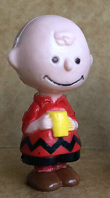 Vintage Peanuts Pocket Doll - CHARLIE BROWN - United Feature Syndicate - 1950s