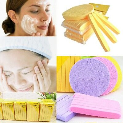 12Pcs Skin Care Compressed Facial Cleaning Wash Puff Sponge Stick Face Cleansing