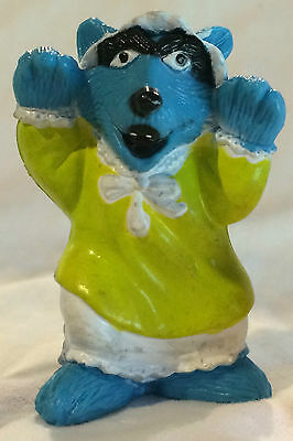 Vintage MUPPETS Inc The Big Bad Wolf - PVC Doll Character Figure 2.5""