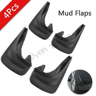 4x Universal rubber Car Mud Flaps splash guards Front&Rear for Ford Fiesta Focus