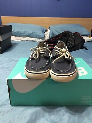 Sperry Top-Sider Men's Halyard Boat Shoes Size 11 M Navy Blue