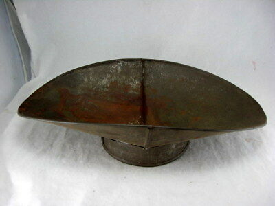 Vtg Antique Tin General Store Beam Scale Scoop Tray Pan Candy Grain Produce