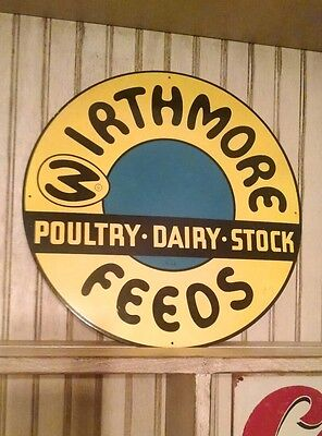 wirthmore feed advertising sign
