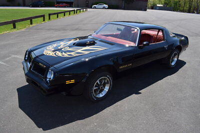 1976 Pontiac Trans-Am  1976 Black 455 HO 4 Speed Trans-AM Original Low Miles Great Driver