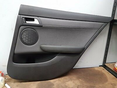 Holden Ve Commodore International Sedan Leather Right Hand Rear Door Cardtc :51I