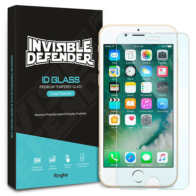 For iPhone 8 / iPhone 7 | Ringke Tempered Glass Clear Screen Protector [2pcs]