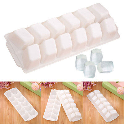 23.7*8.7*3cm Silicone Ice Tray Jelly Soap Mold Pudding Cube Topper Mould Tool.