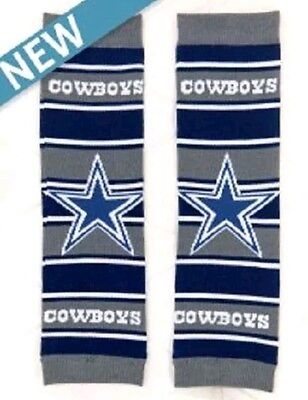 1pair NFL Dallas Cowboys Baby Leggings Leg Warmers Cotton Blend Toddler Football