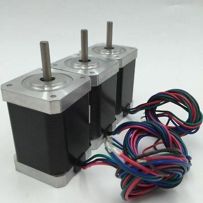 3pcs/lot Nema17 39.6oz.in Stepper Motor L34mm 0.4A 0.28Nm 4Lead for 3D Printer