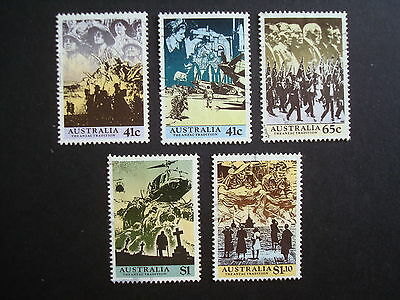 1990 - THE ANZAC TRADITION - Used Set