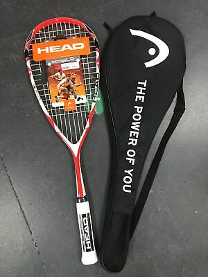 Head Microgel 145 Squash Racquet  - BEST SELLER - Fast & Free SHIPPING!!!