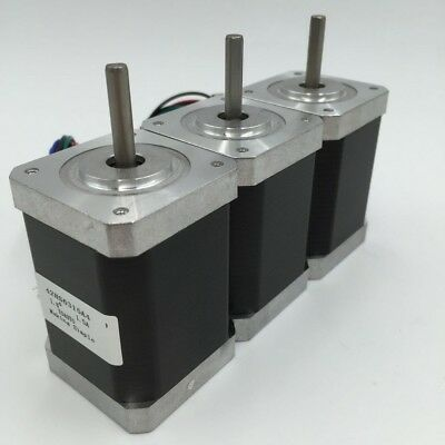 3pcs/lot 0.52Nm Stepper Motor Nema17 L48mm 1.3A 42mm Motor for 3D Printer