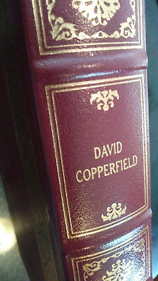 DAVID COPPERFIELD by Charles Dickens - Easton Press Leather - LIKE NEW!