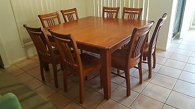 8 seat dinning table and chairs