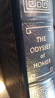 THE ODYSSEY OF HOMER - Easton Press Leather - LIKE NEW!
