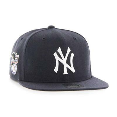 New York Yankees MLB Hat 2016 Sure Shot Hat 47 Brands Baseball Cap In Navy