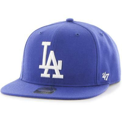 LA Dodgers MLB Hat 2016 Sure Shot Hat 47 Brands Baseball Cap In Royal