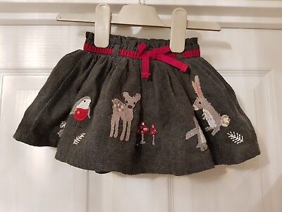 Next Girls skirt 3-6 Months