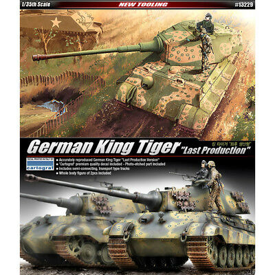 ACADEMY #13229 1/35 Plastic Model Kit German King Tiger Last Production
