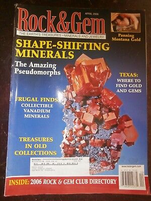 ROCK & GEM MAGAZINE April 2006