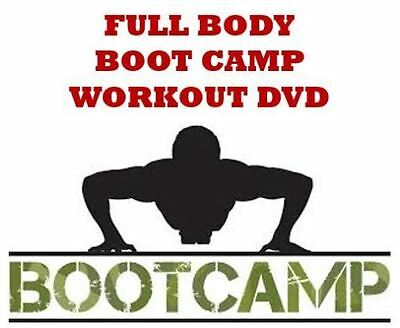 Full Body Boot Camp Workout DVD - Fitness - HIIT - Total Body Cardio Workout